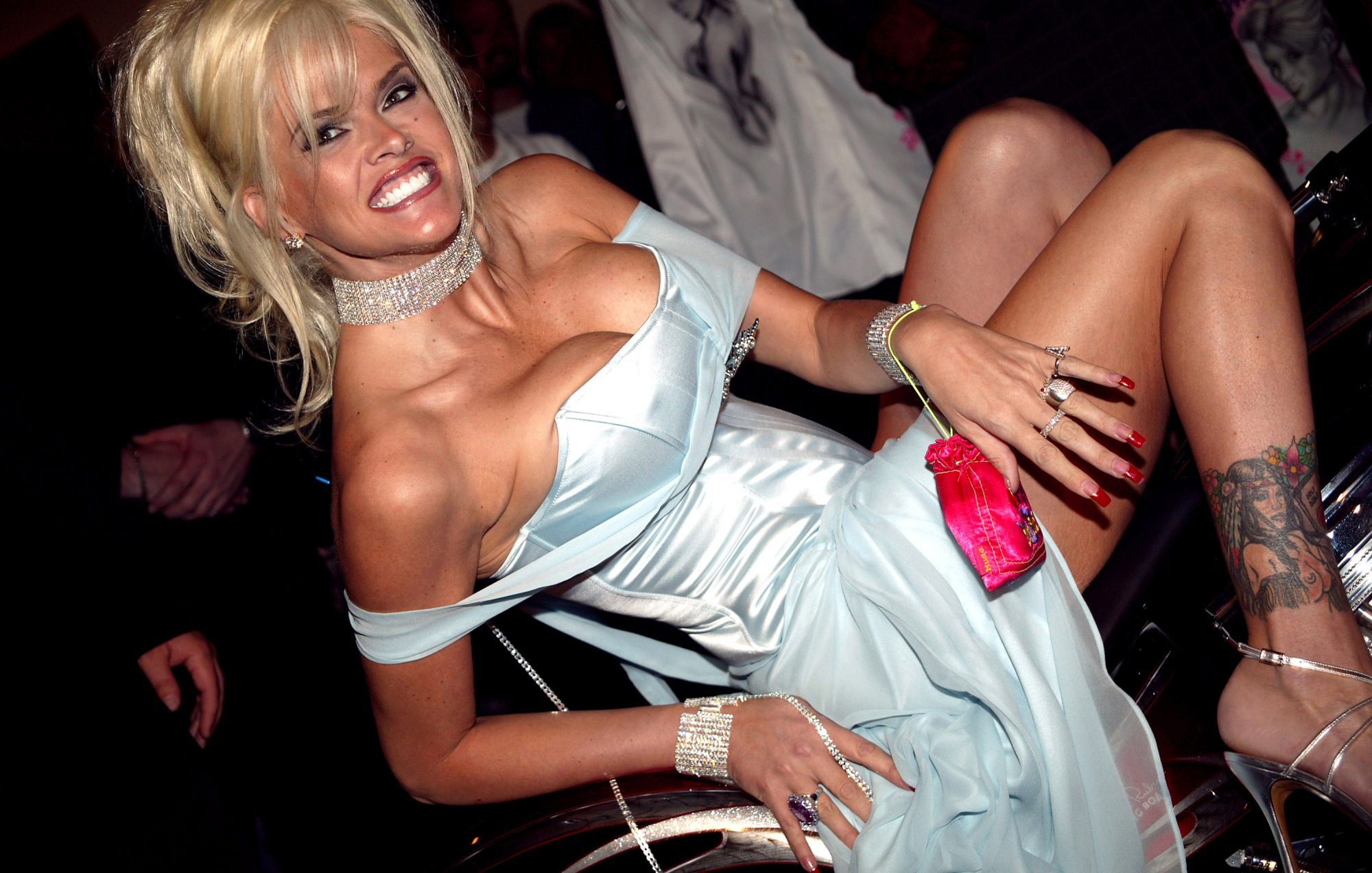 Anna Nicole Smith Party to Launch her New Clothing Line at Body English Night Club at the Hard Rock Hotel in Las Vegas