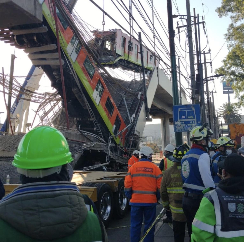 Desplome Metro Ciudad de México