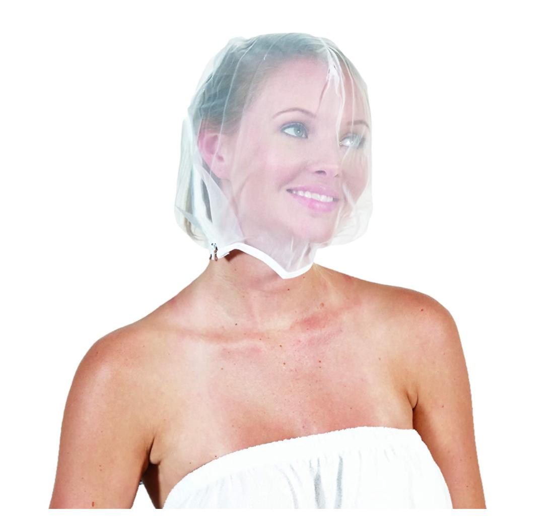 mascarilla para proteger el maquillaje