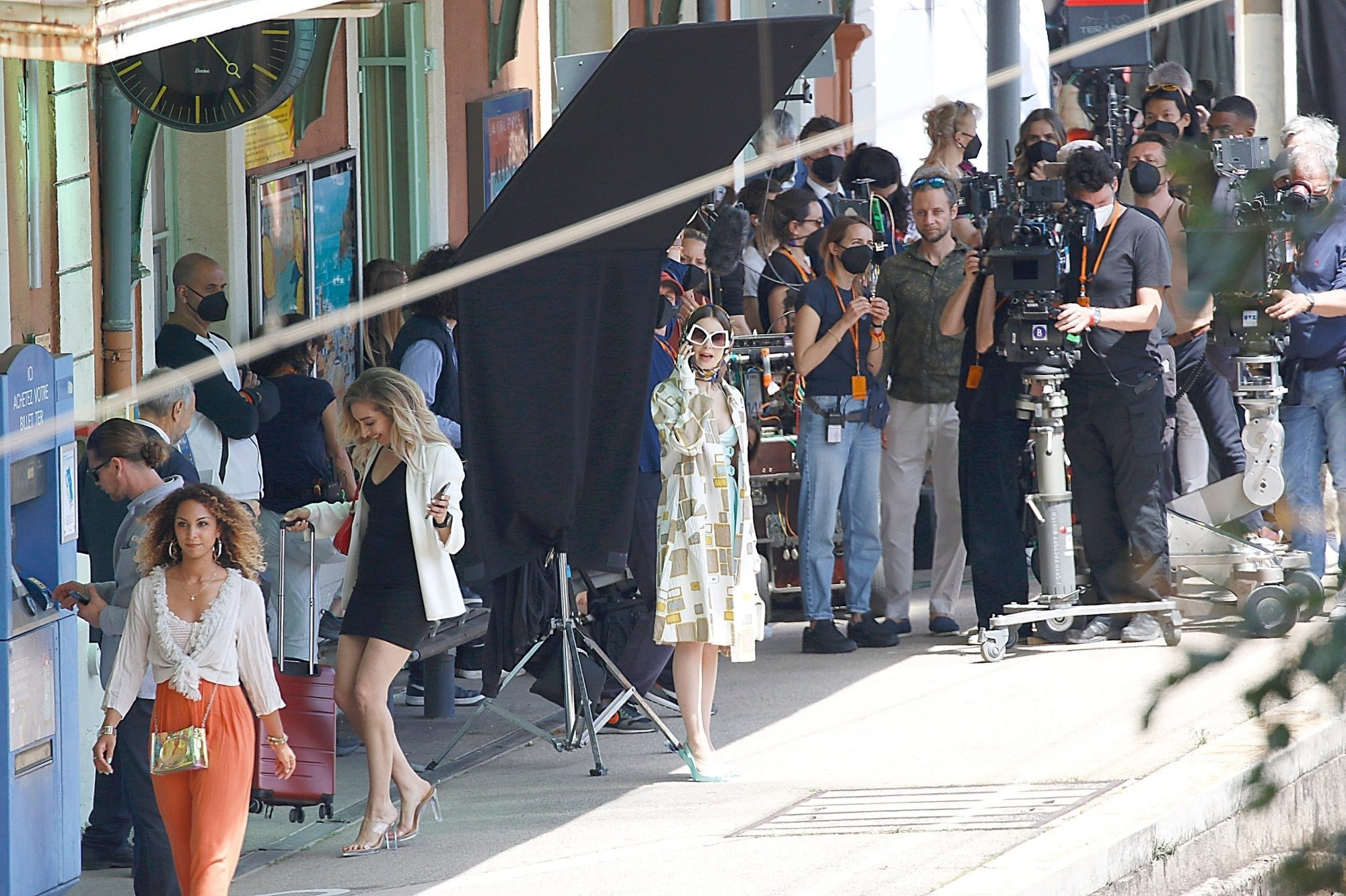Lily Collins is Back on Set for Season 2 of 'Emily in Paris'