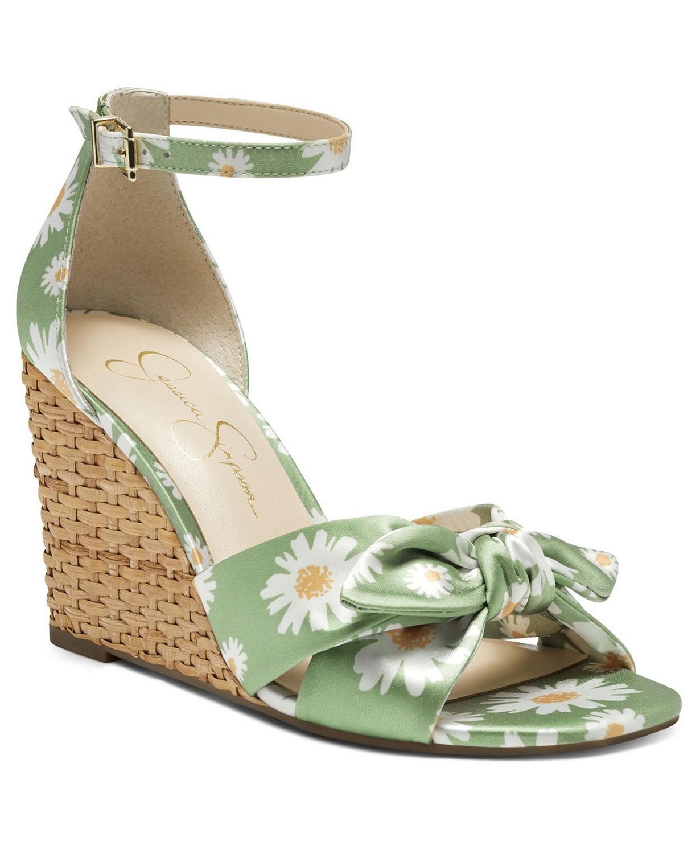 zapatos de primavera, sandalias, Jessica Simpson