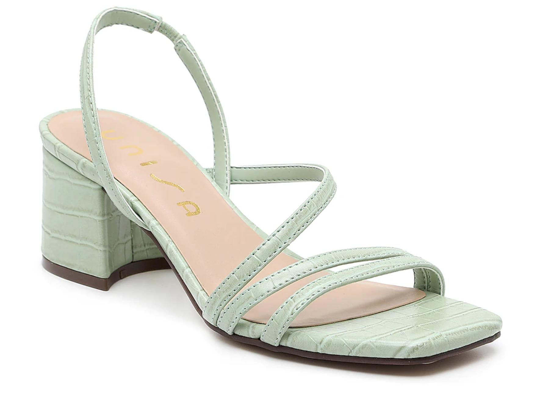 zapatos de primavera, sandalias, Unisa
