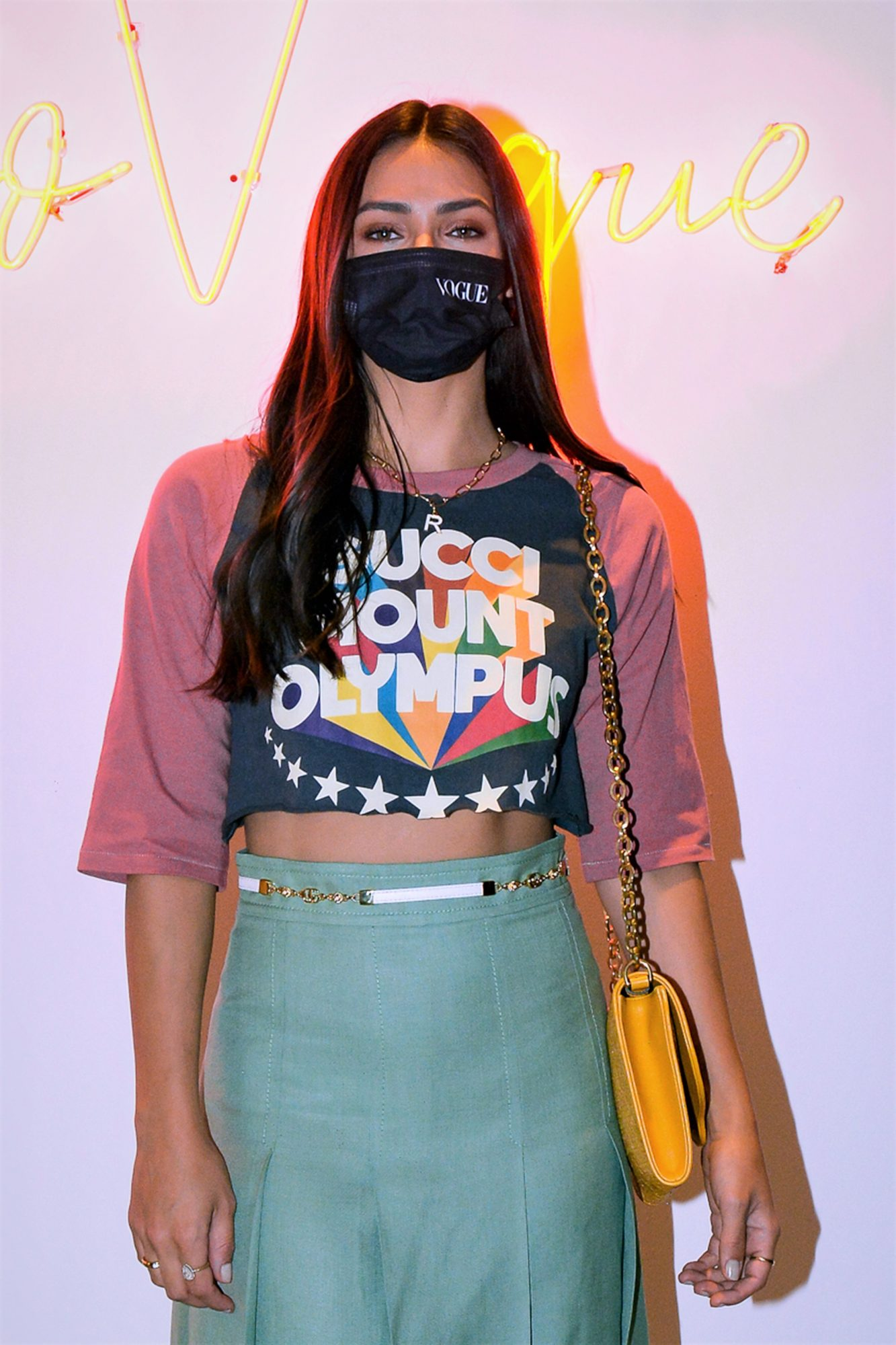 Renata Notni poses for a photo during the inauguration of Espacio Vogue 2 at the Four Seasons Hotel Mexico City