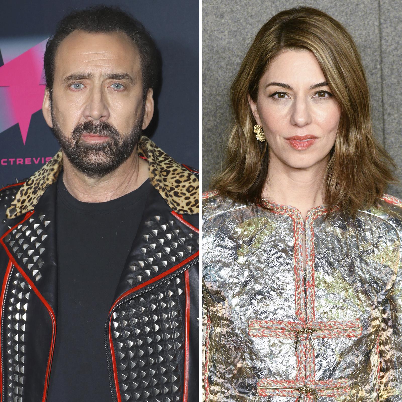 Nicolas Cage y Sofia Coppola