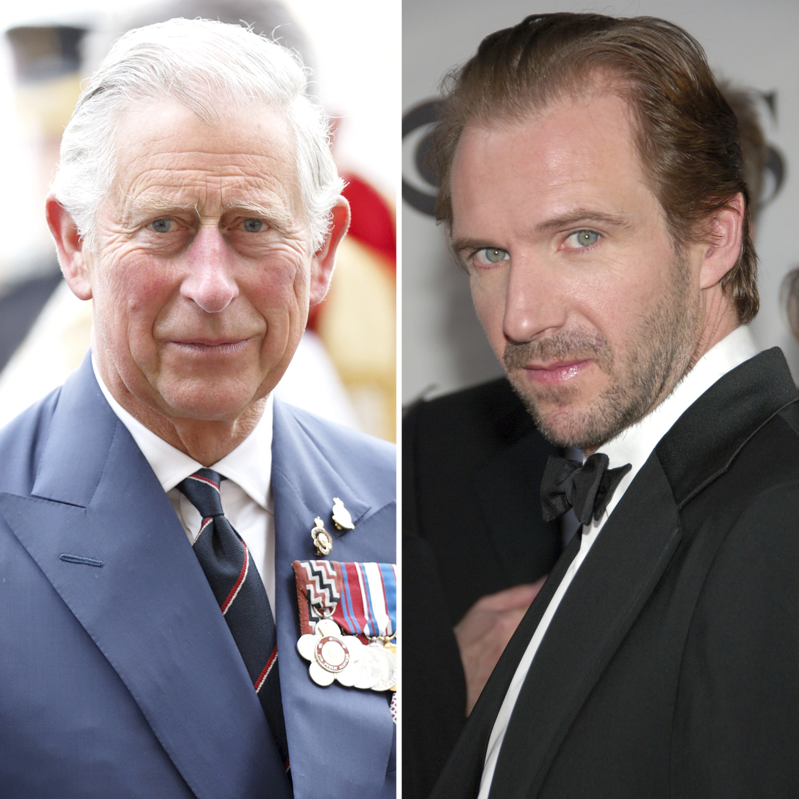 Prince Charles y Ralph Fiennes