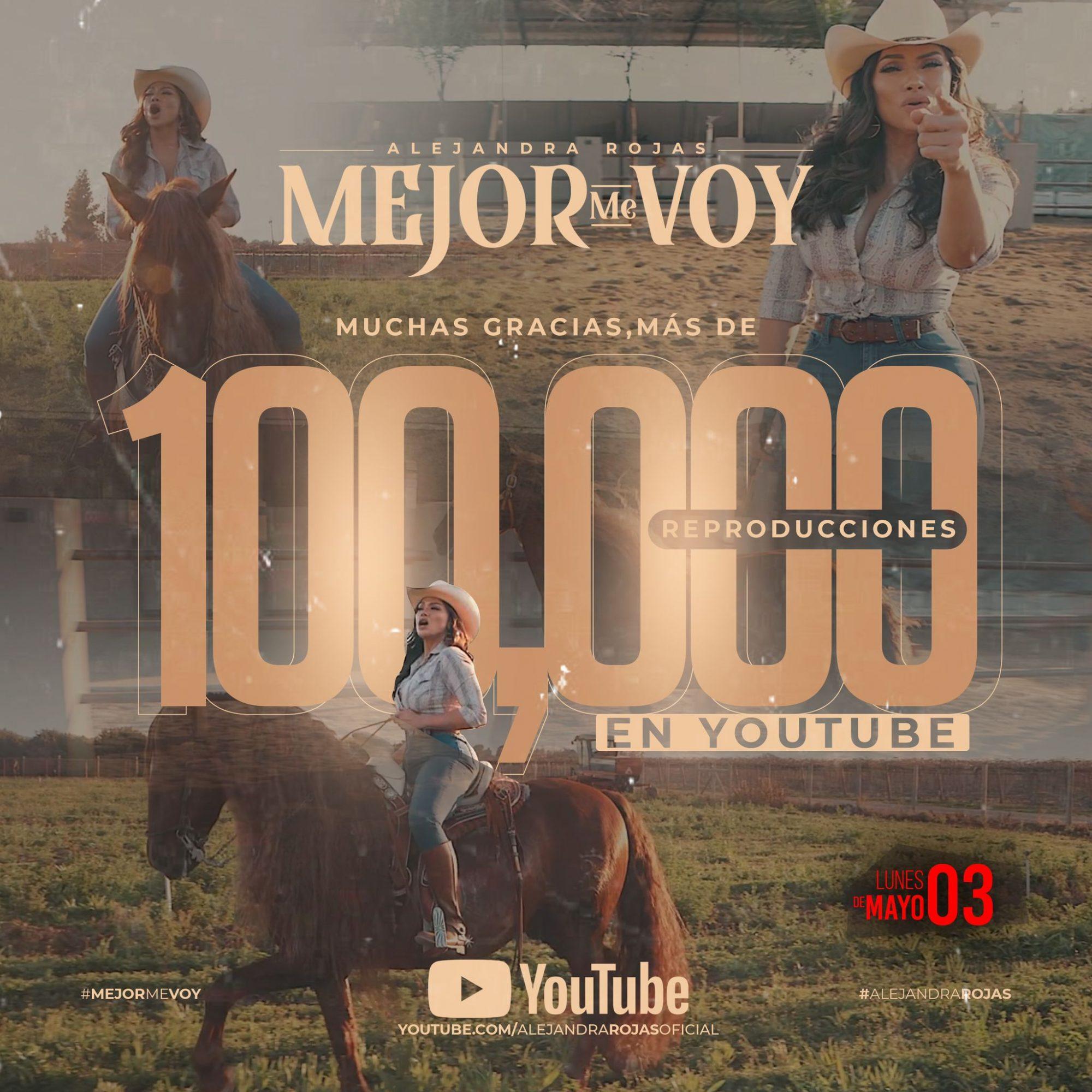 Alejandra Rojas (Mejor Me Voy) Video Oficial 2021