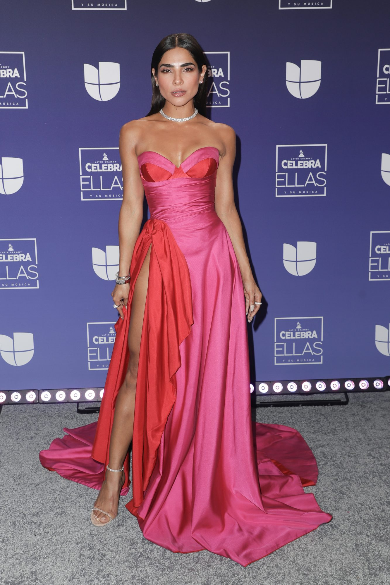 Alejandra Espinoza attends the Latin GRAMMY Celebra Ellas y Su Musica Show