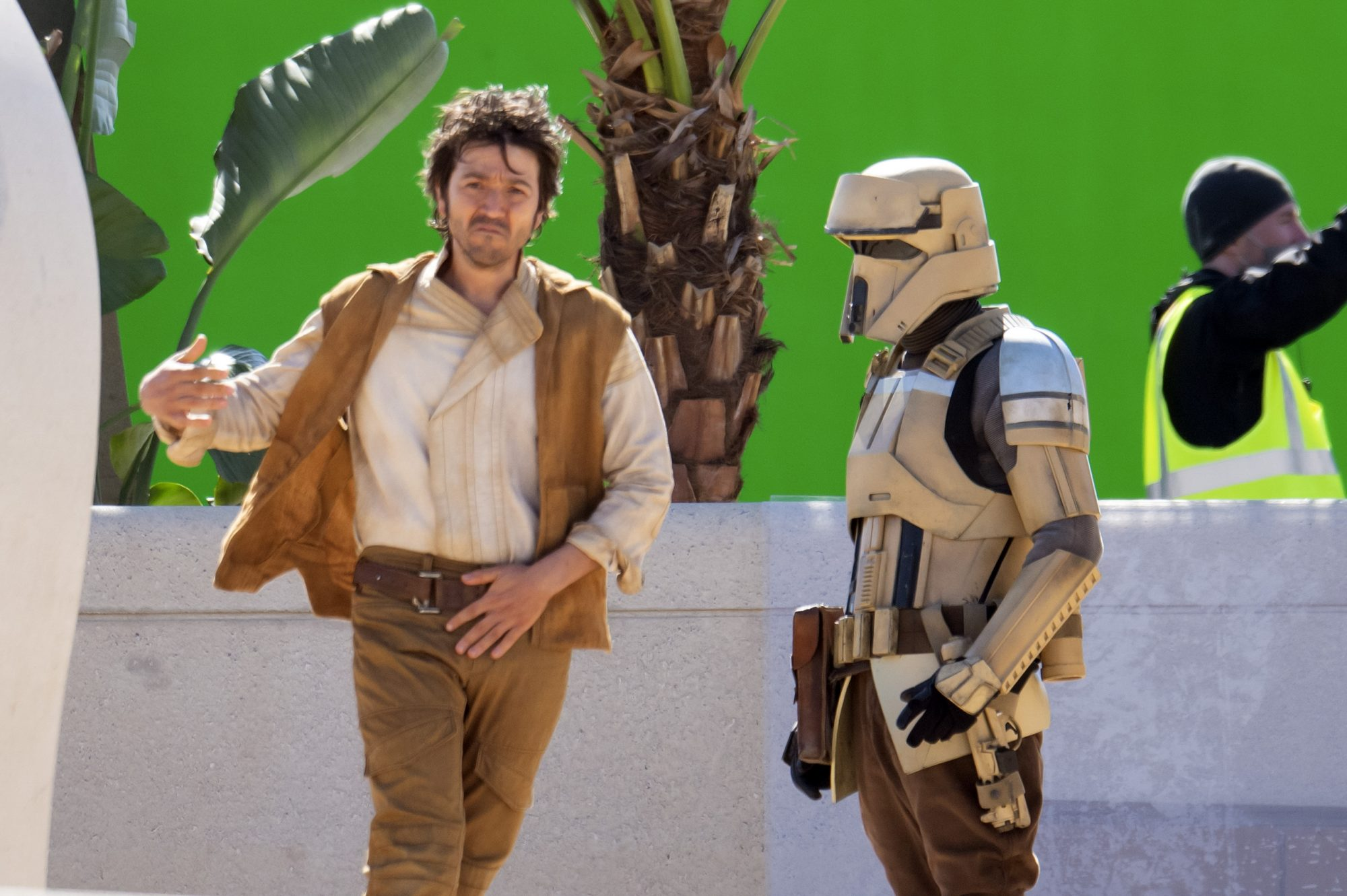 Diego Luna Is Seen For The First Time On Set Of New Star Wars: Andor