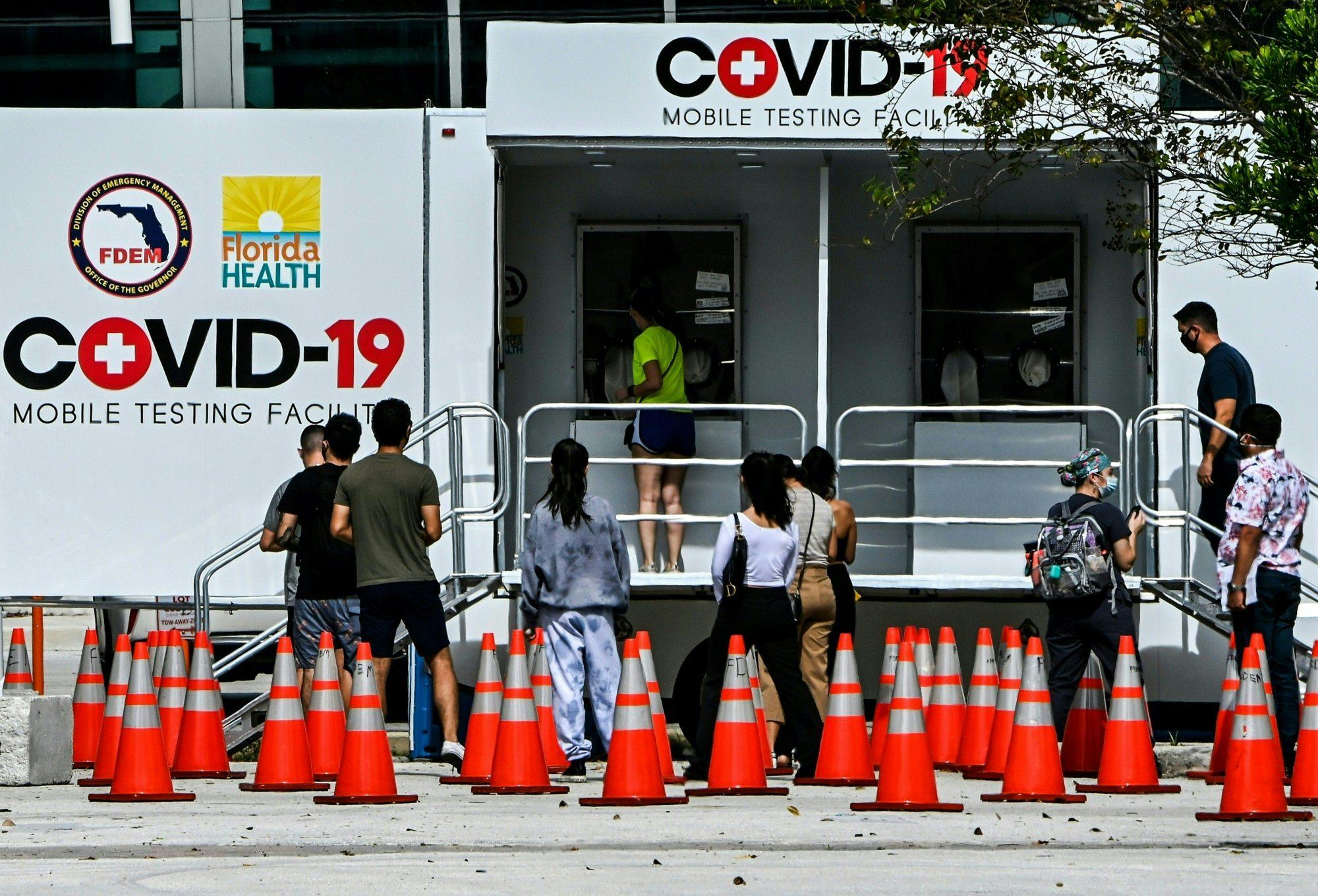 detectan variante de covid-19 en florida