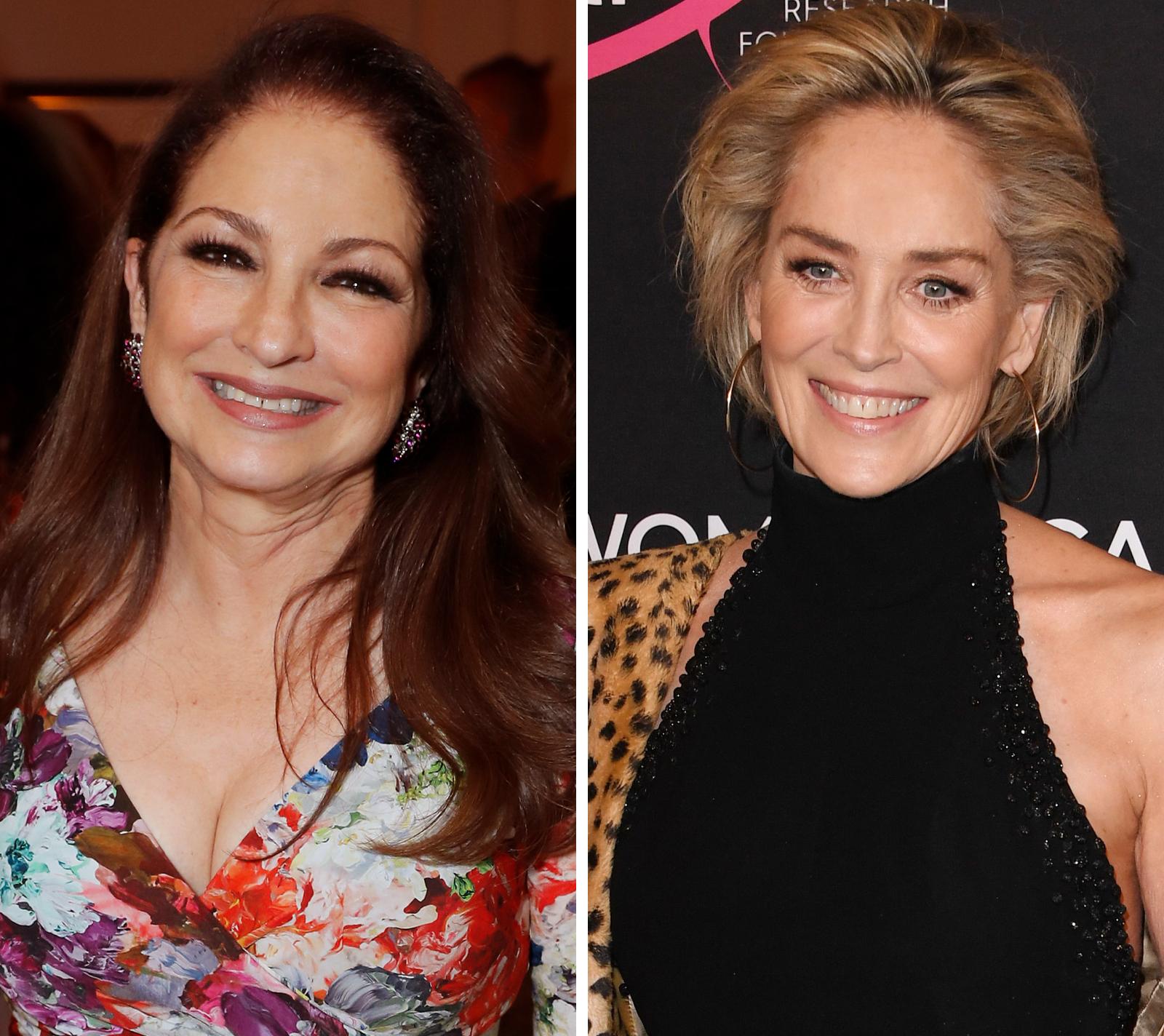 """Sharon Stone """"es una sobreviviente"""", afirma Gloria Estefan al presentar las memorias de la actriz"""