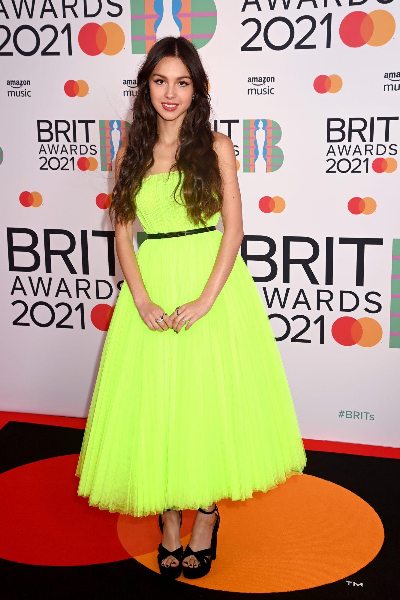 Look del día, Olivia Rodrigo, BRITs