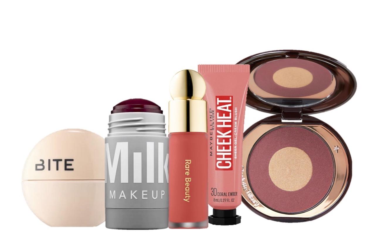 Rubor, colorete, bite beauty, milk makeup, rare beauty, maybelline, charlotte tilbury