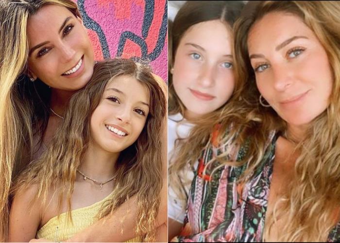 Madres e hijas que lucen igual