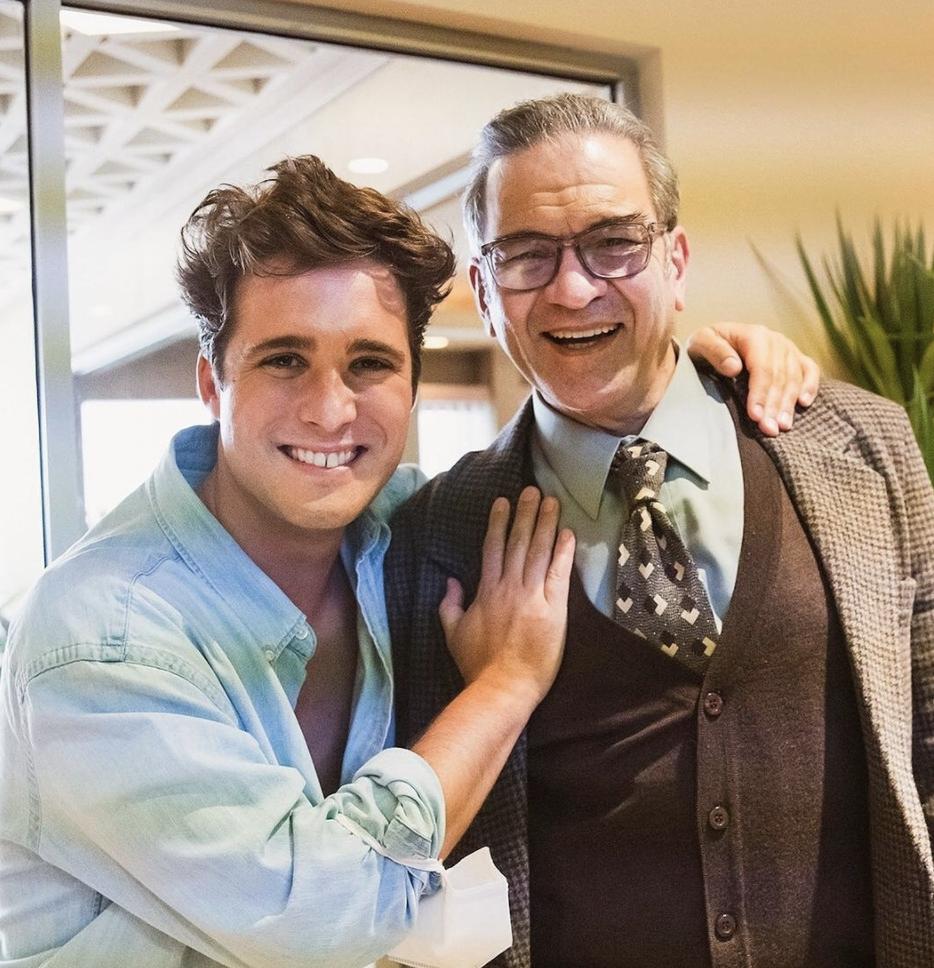 Diego Boneta y César Bordón