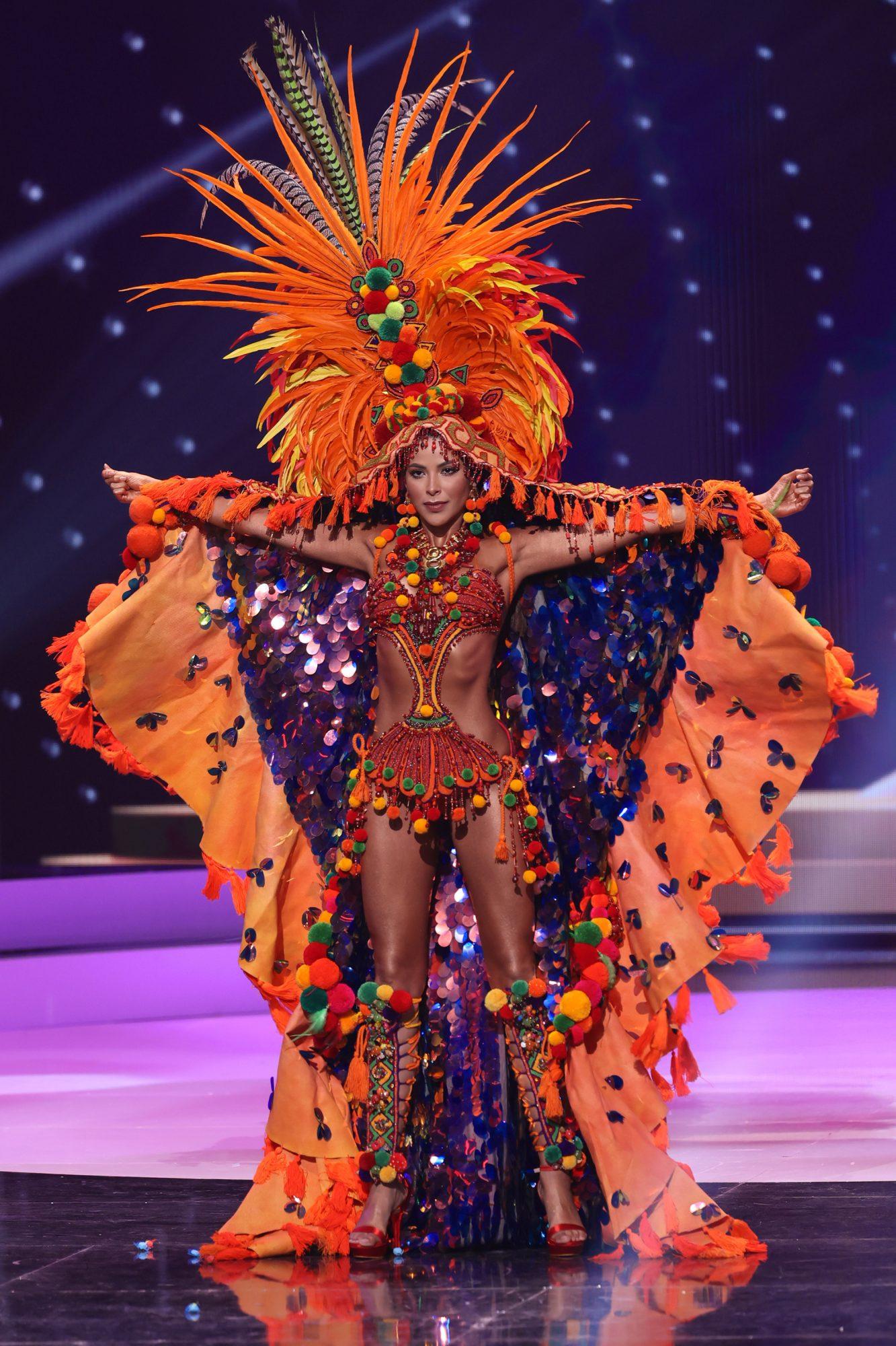 Trajes típicos latinas Miss Universo