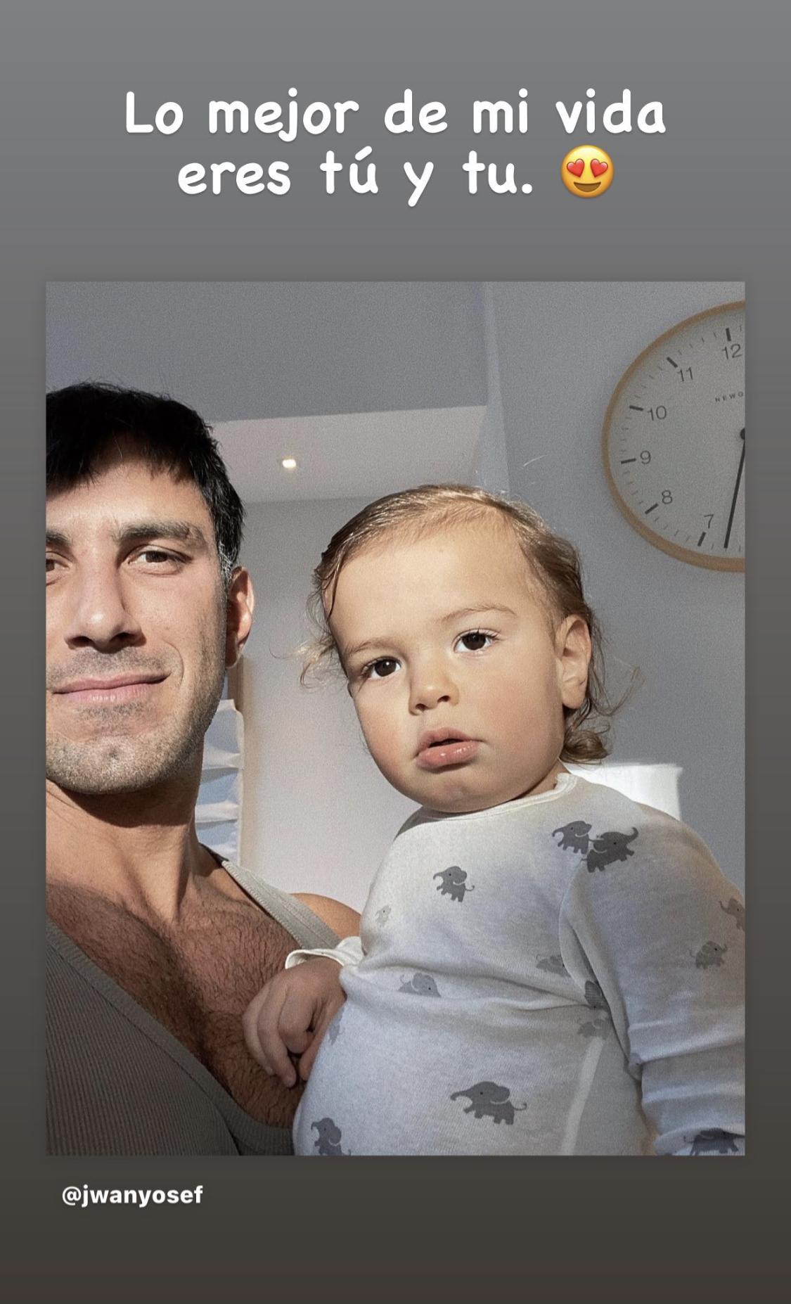 Jwan Yosef baby Renn