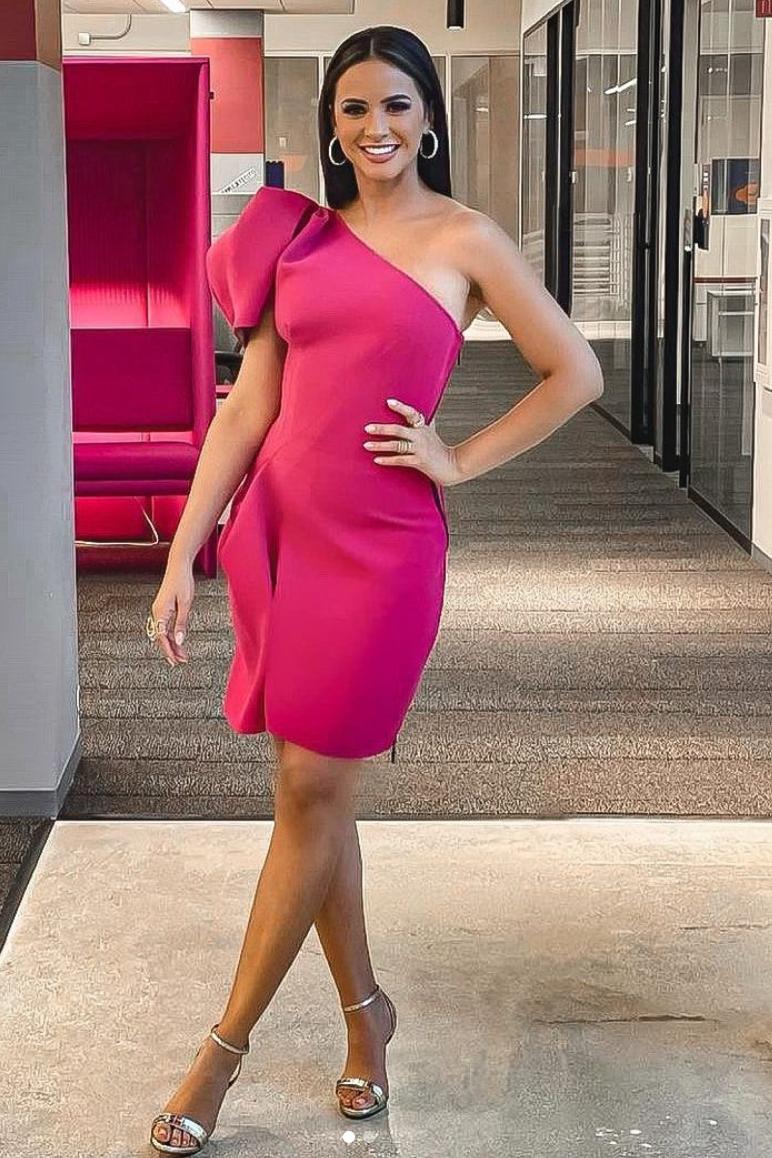 Ana Jurka, look del dia, vestido rosado, miss universo