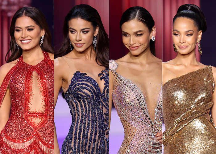 Finalistas Miss Universo belleza latina de moda