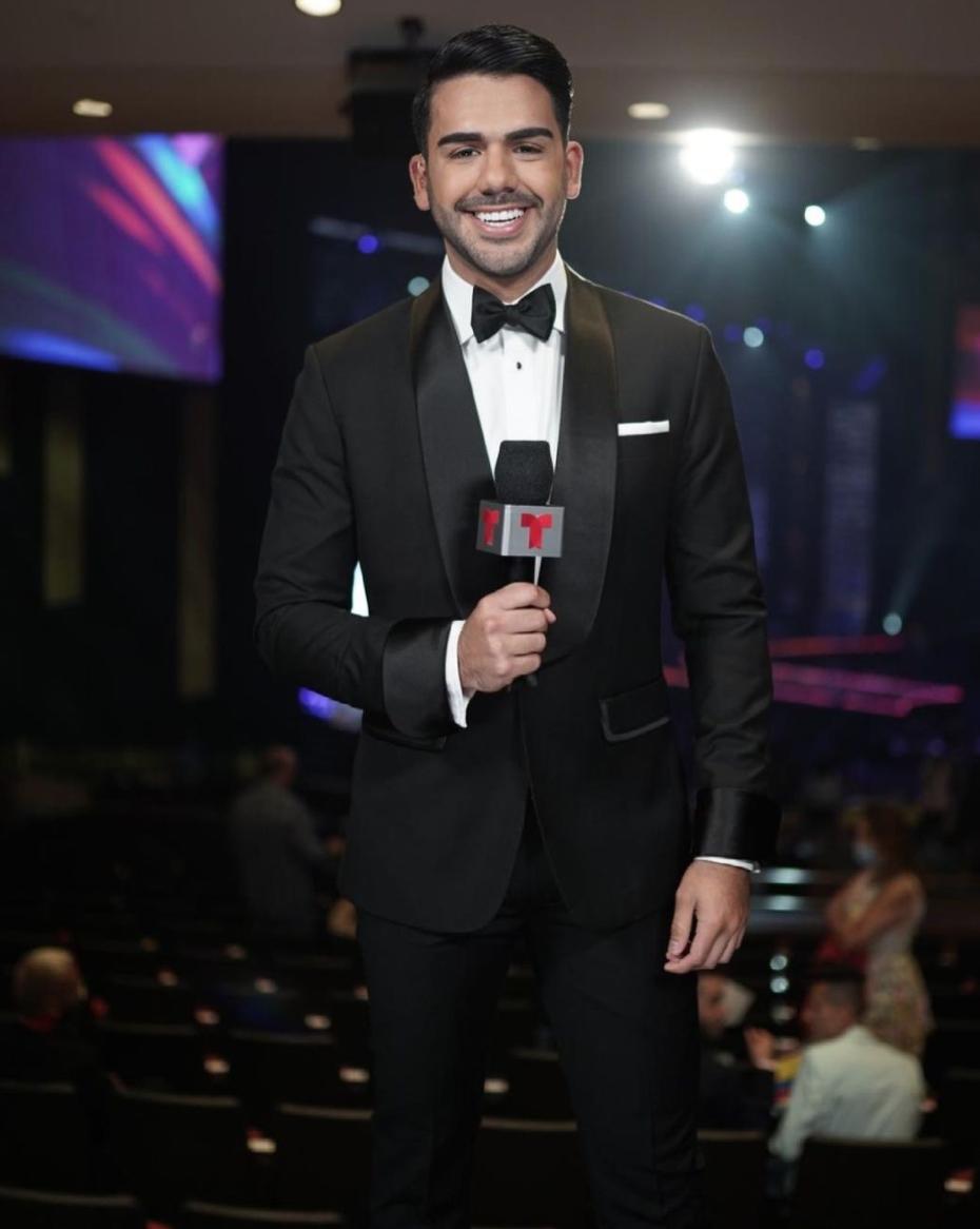Miss Universo presentador, Carlos Aydan