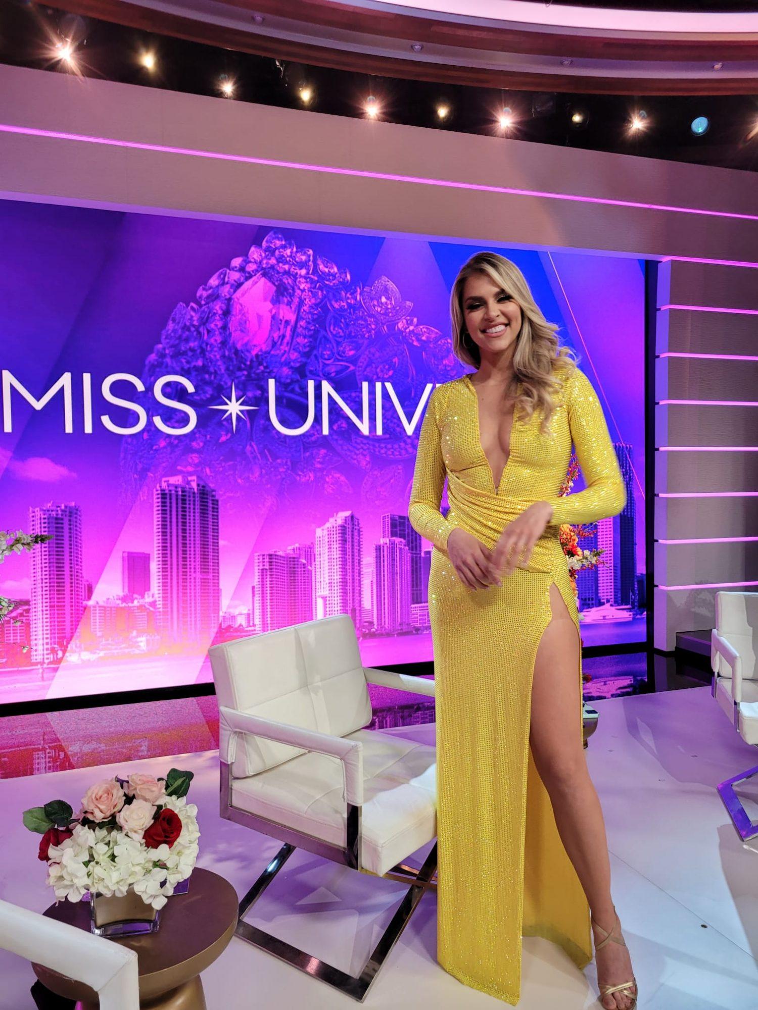 Miss Universo presentadoras, Daniela Di Giacomo