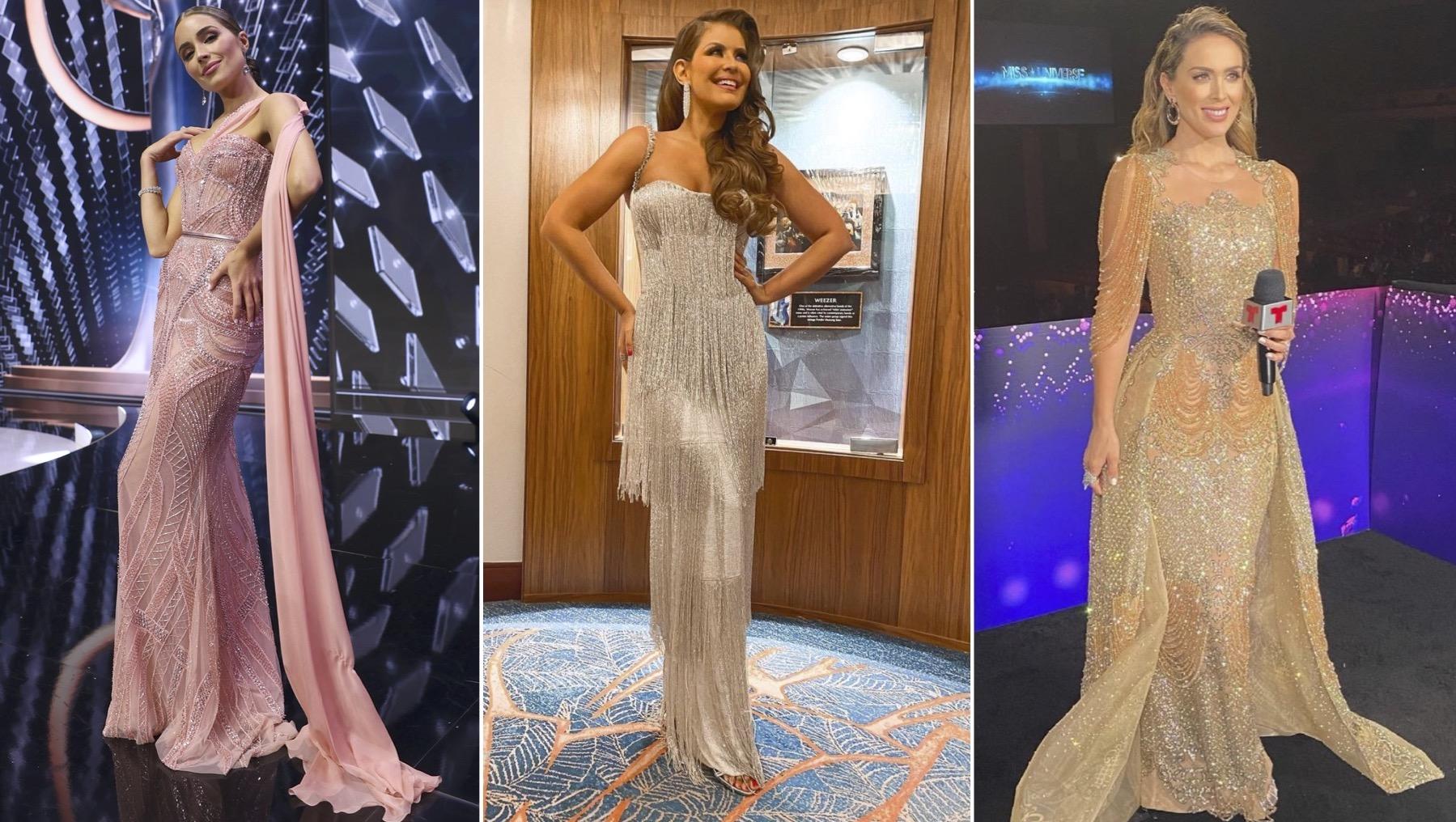 Miss Universo presentadoras, Olivia Culpo, Vanessa Claudio, Jacqueline Bracamontes