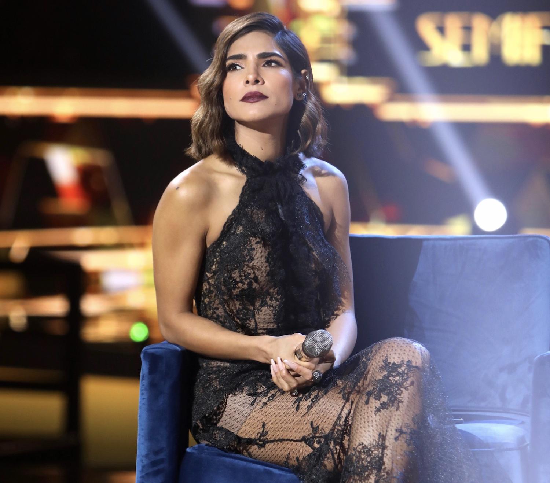 Alejandra Espinoza, conductora de Nuestra Belleza Latina