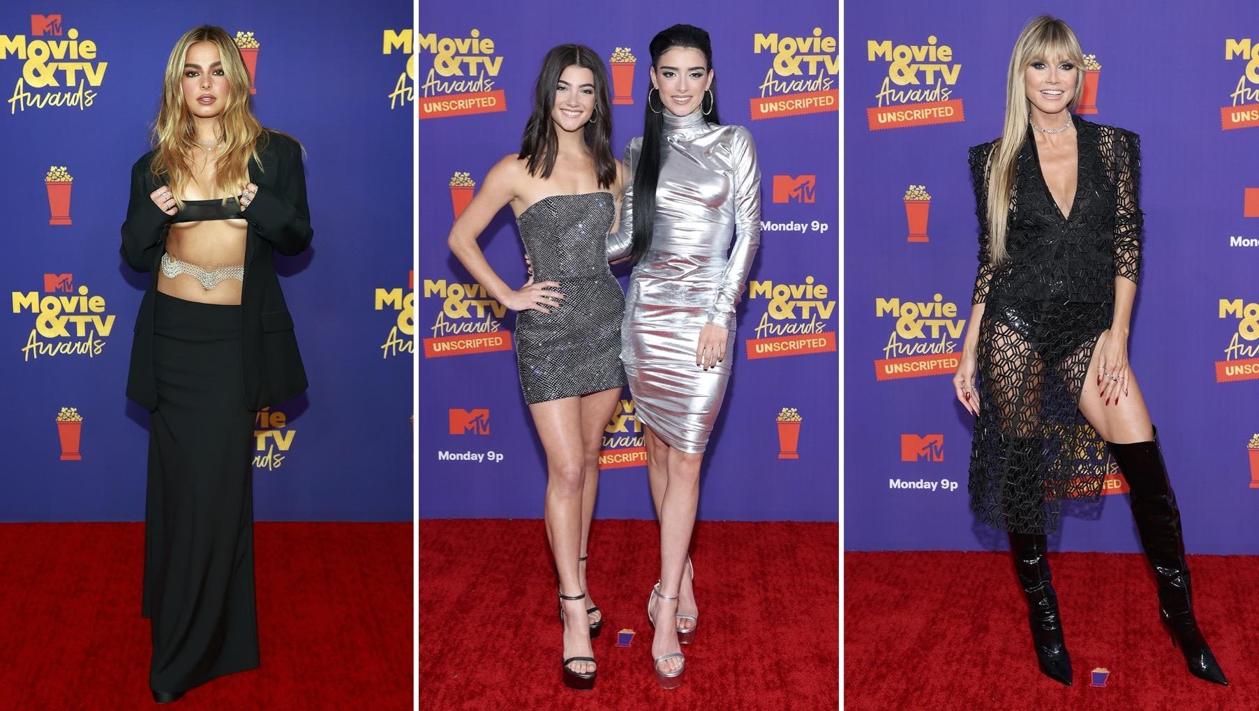 MTV Movie & Television Awards, Addison Rae, D'Amelios, Heidi Klum