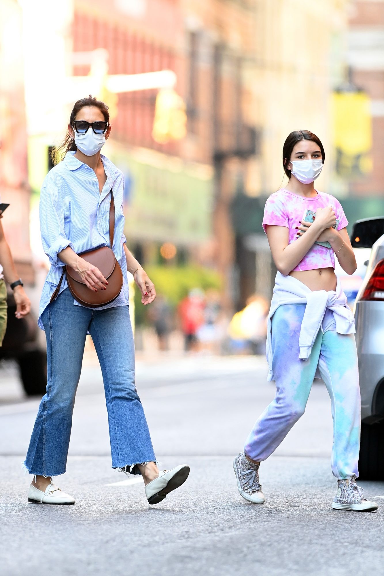 Katie Holmes Was Ready to Enjoy a Girls' Day as she Stepped Out with Suri Cruise in NYC