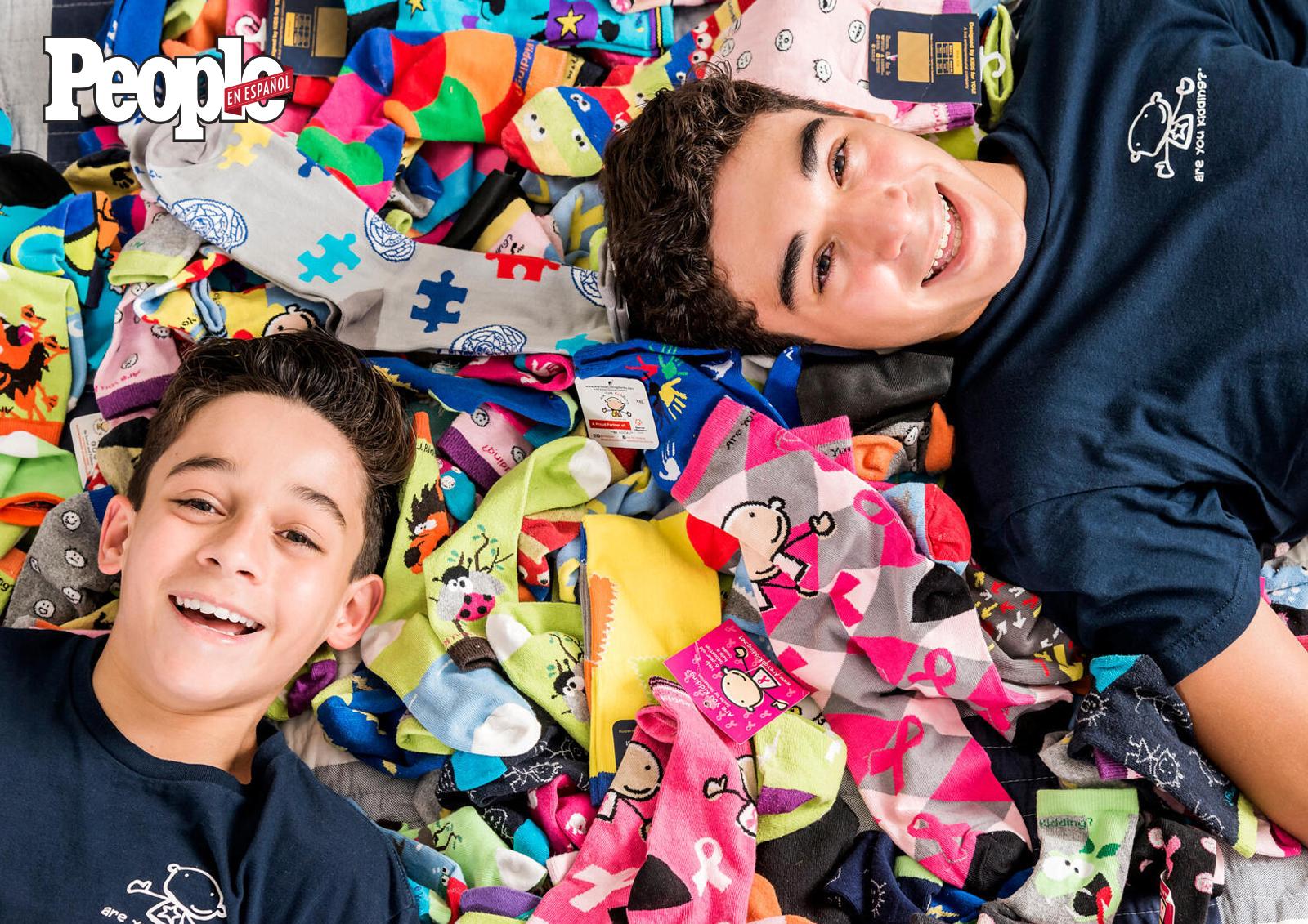 Brandon y Sebastian Martinez