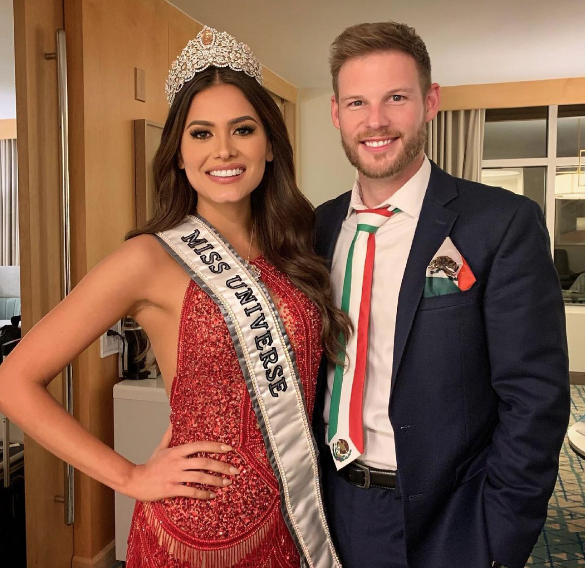 Miss Universe Andrea Meza y Ryan Antonio
