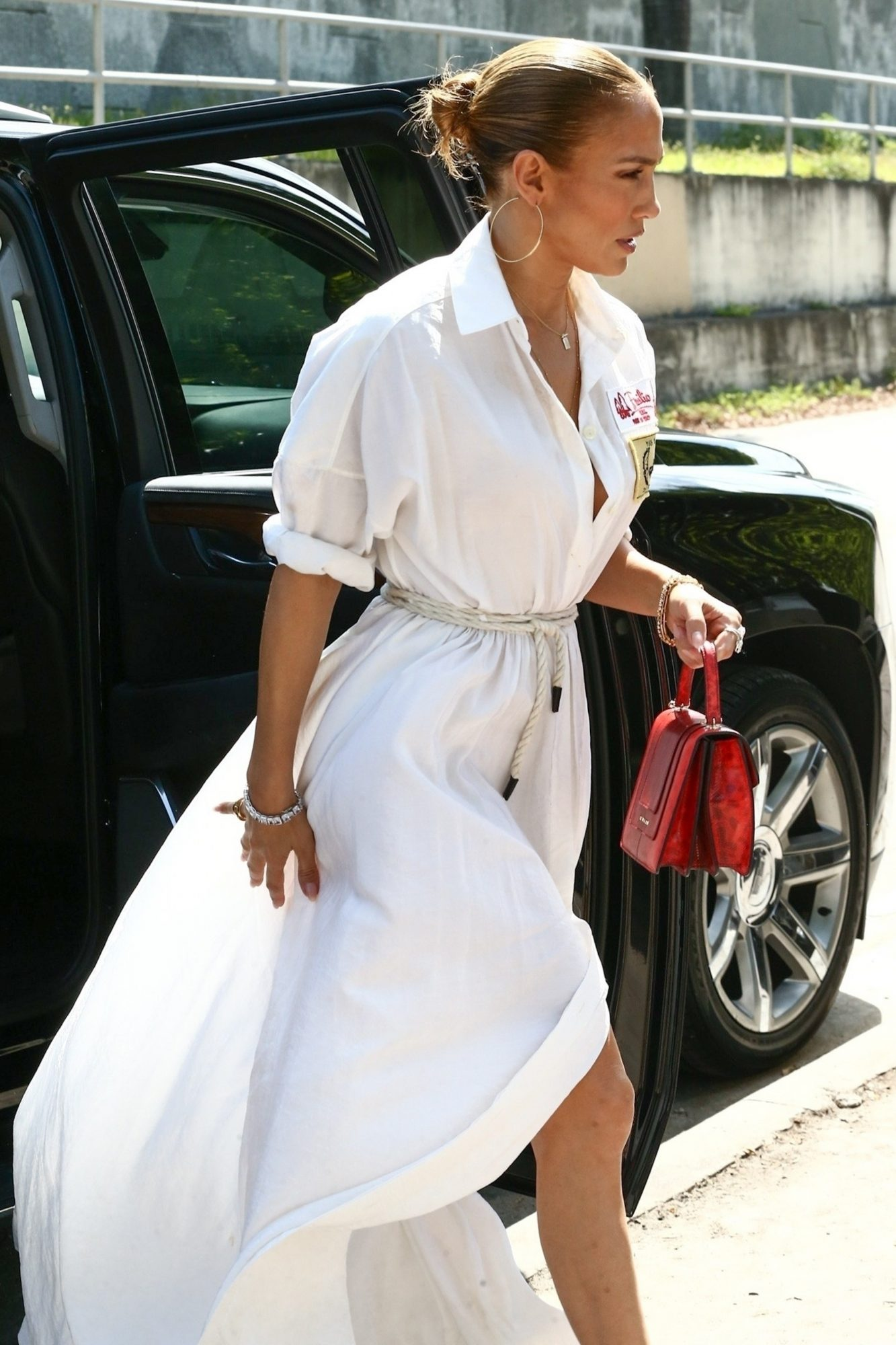 Jennifer Lopez, Jlo, miami, vestido blanco