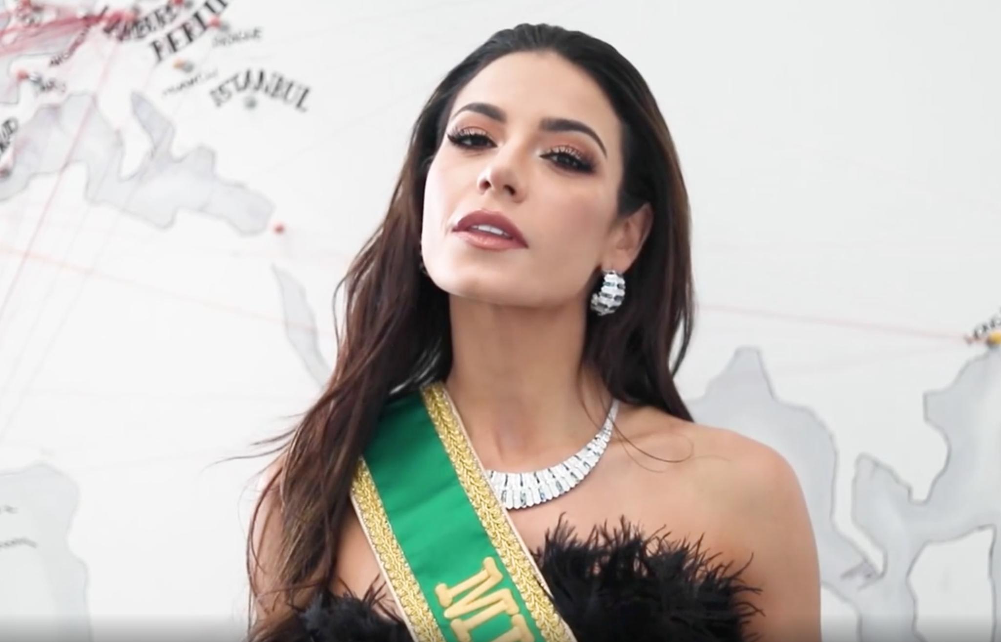 Julia Gama, Miss Universo, virreina