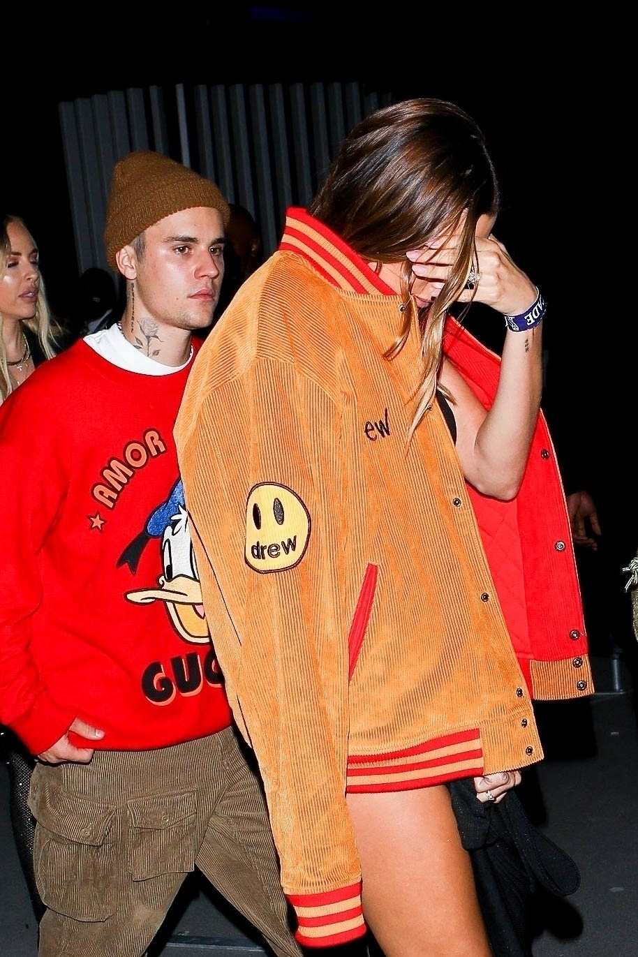 Justin Bieber & Hailey Bieber Party at the Billboard Music Awards After-Party at Sofi Stadium