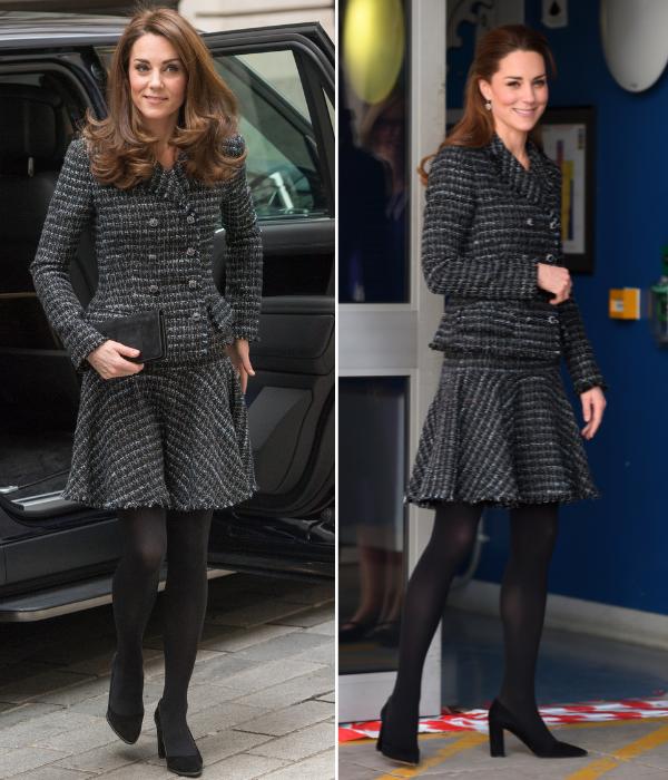 Kate Middleton repite atuendo
