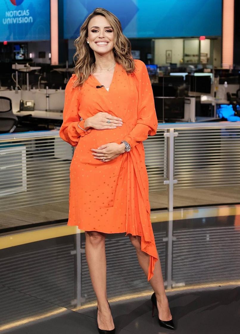 Carolina Sarassa, look del dia, look de embarazo