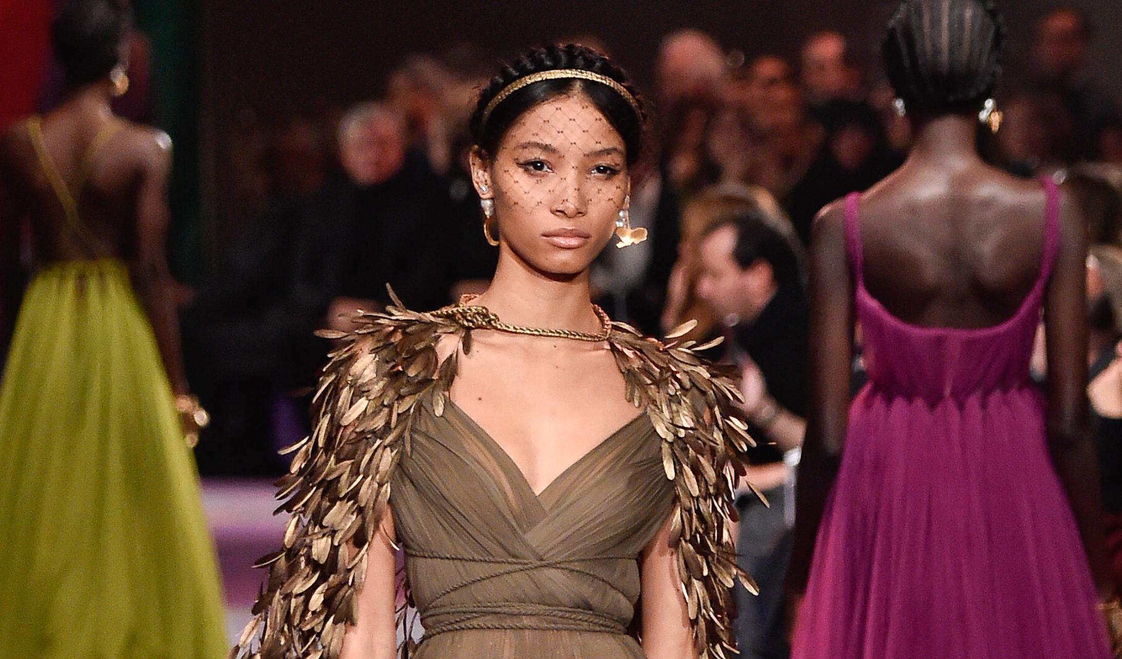 Lineisy Montero imagen de Dior Makeup