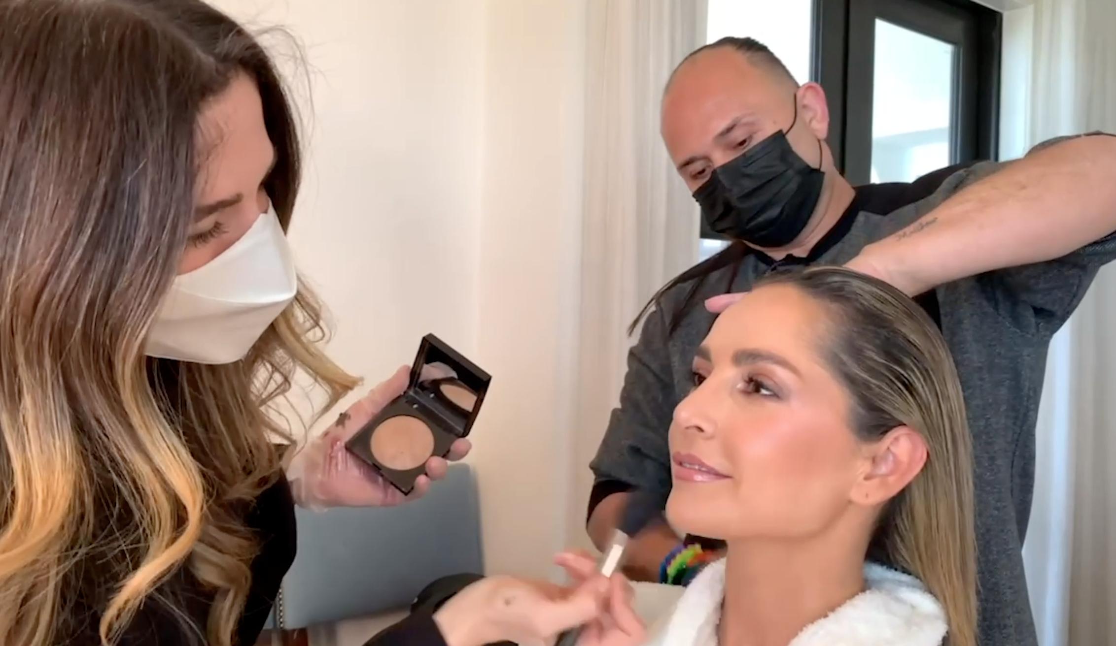 Carmen Villalobos 50 mas bellos maquillaje pelo