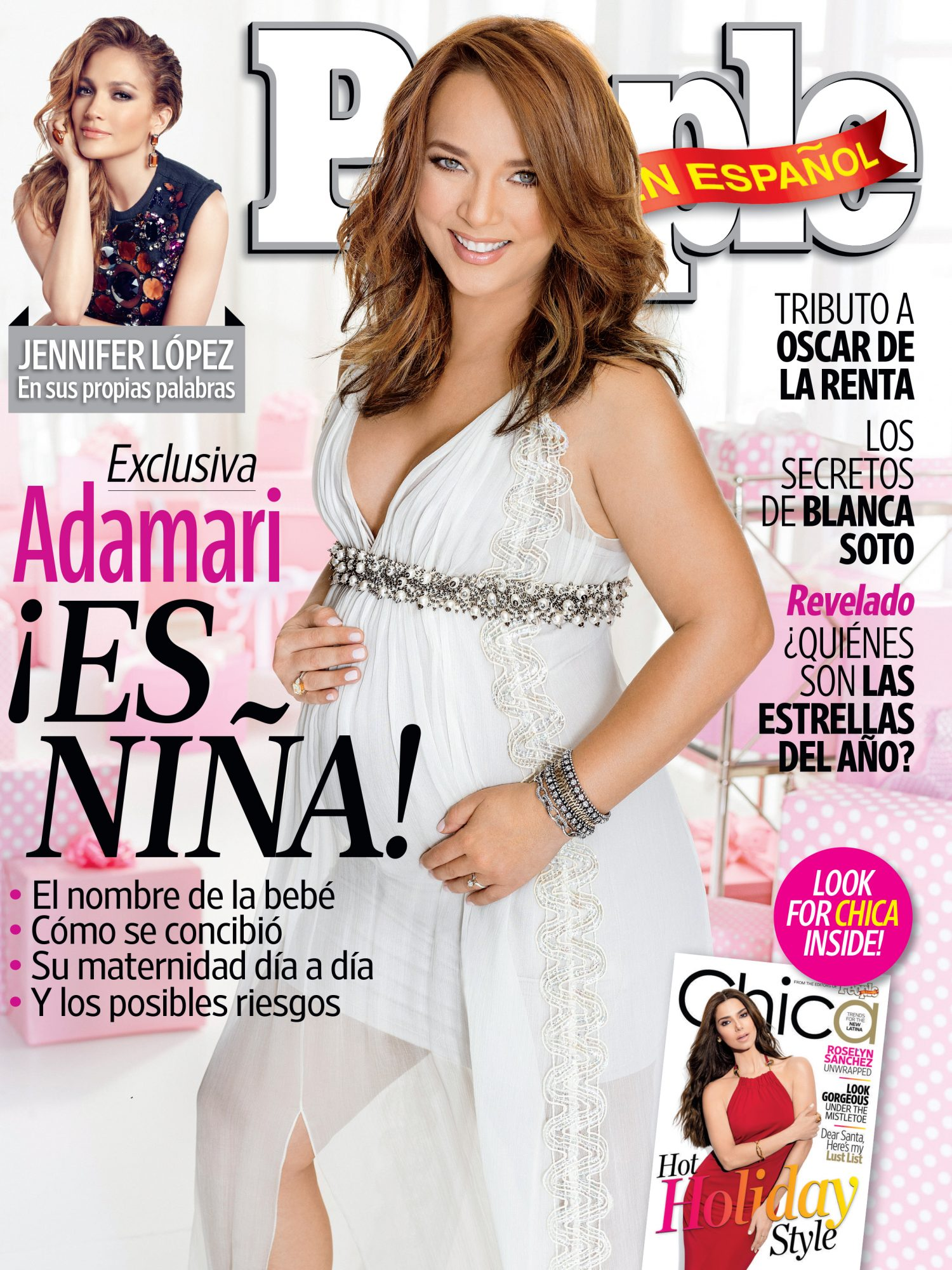 Adamari Lopez - December 2014-January 2015 COVER