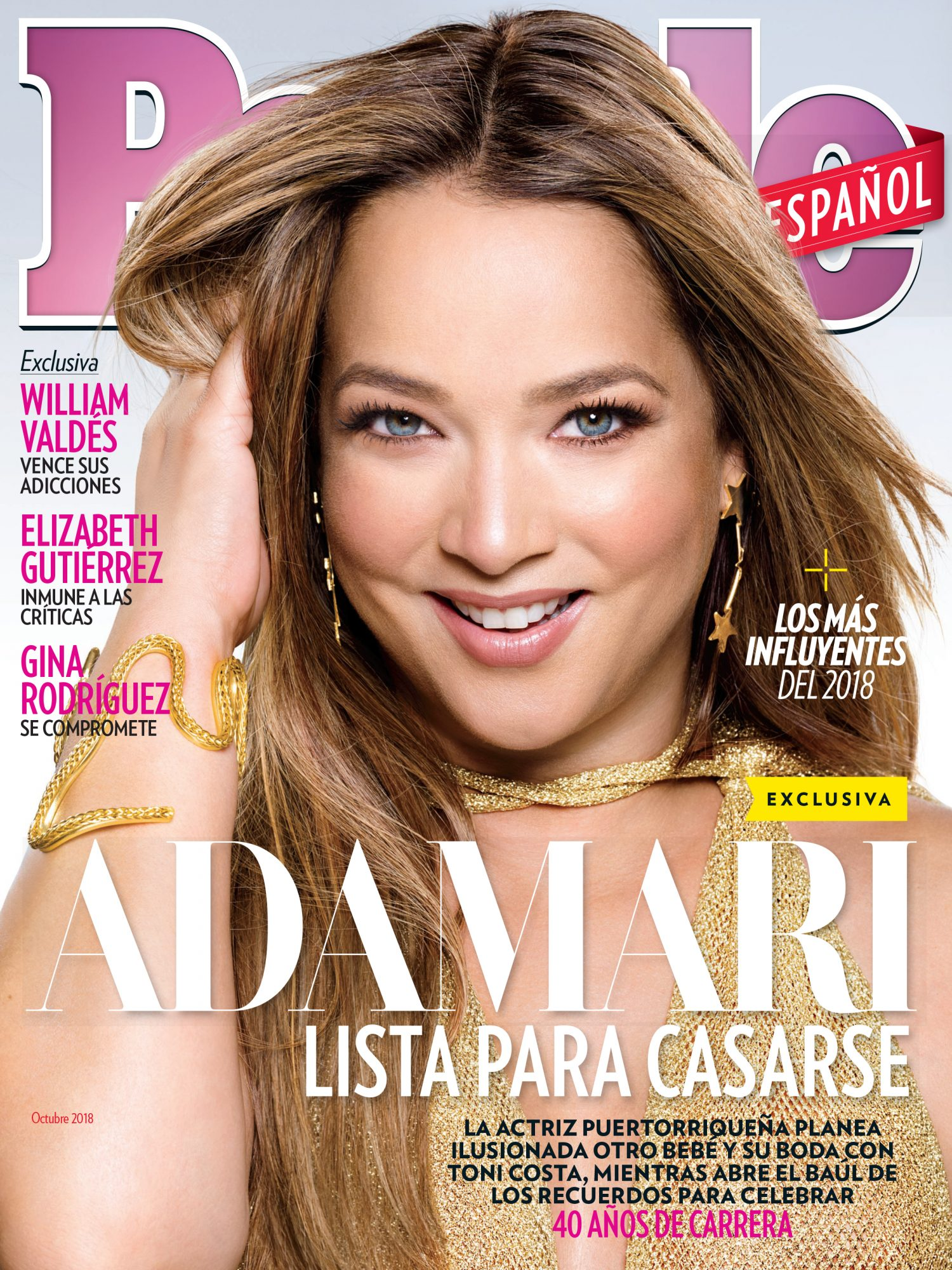 Adamari Lopez - Octubre 2018 Portada COVER