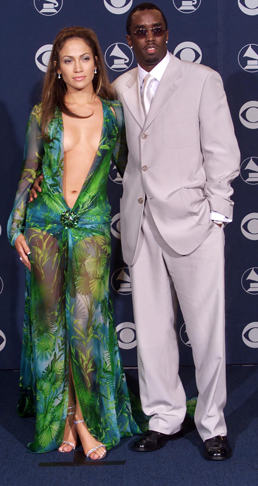 "Jennifer Lopez y Sean ""Puffy"" Combs"