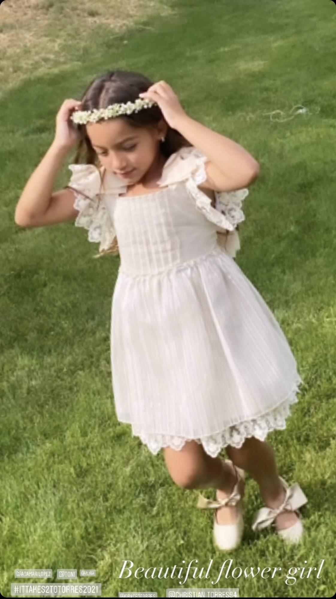 Alaia Flower Girl
