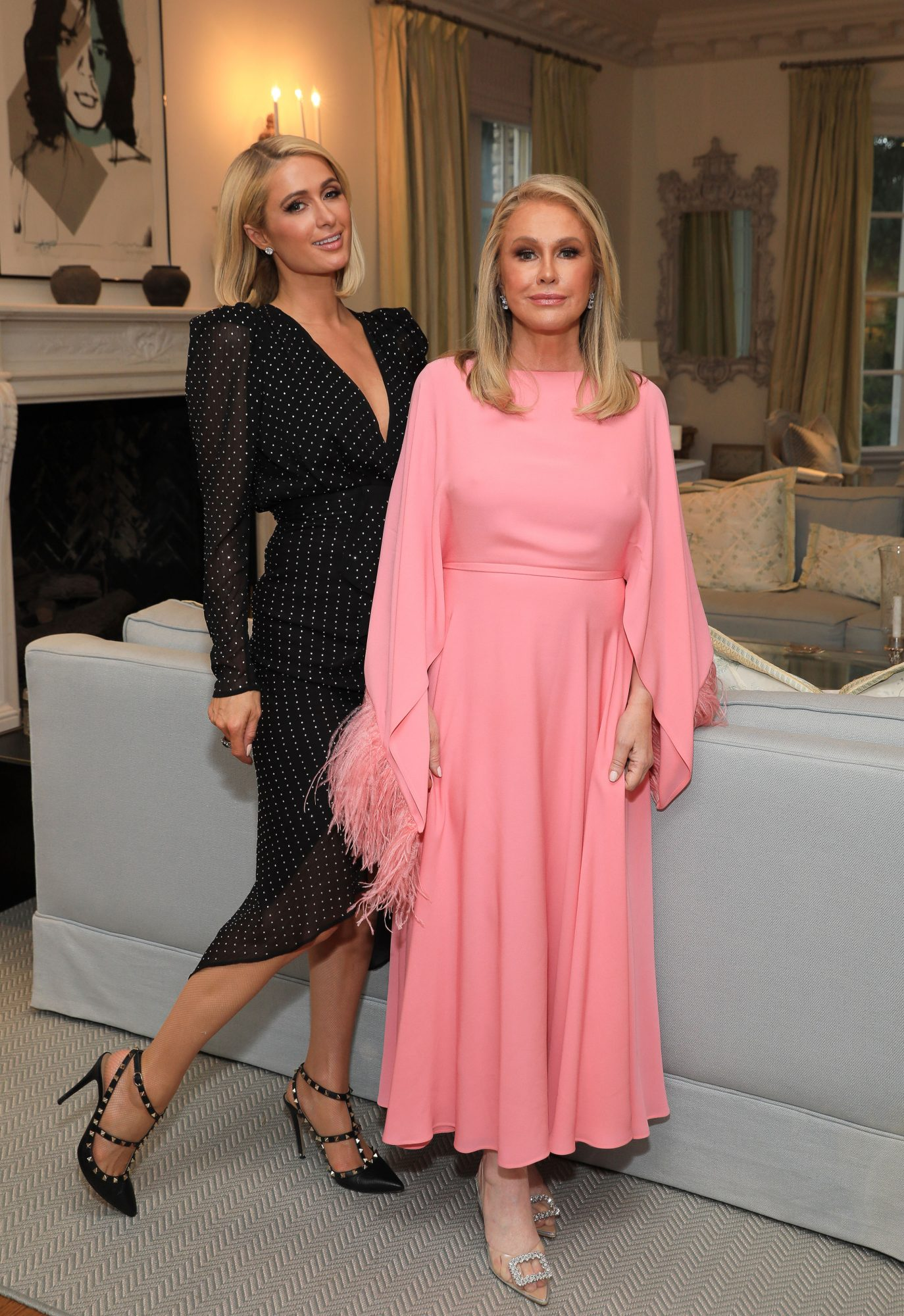 Pink Mogul Cindy Eckert Fetes RHOBH's Kathy Hilton with a Private Viewing Party