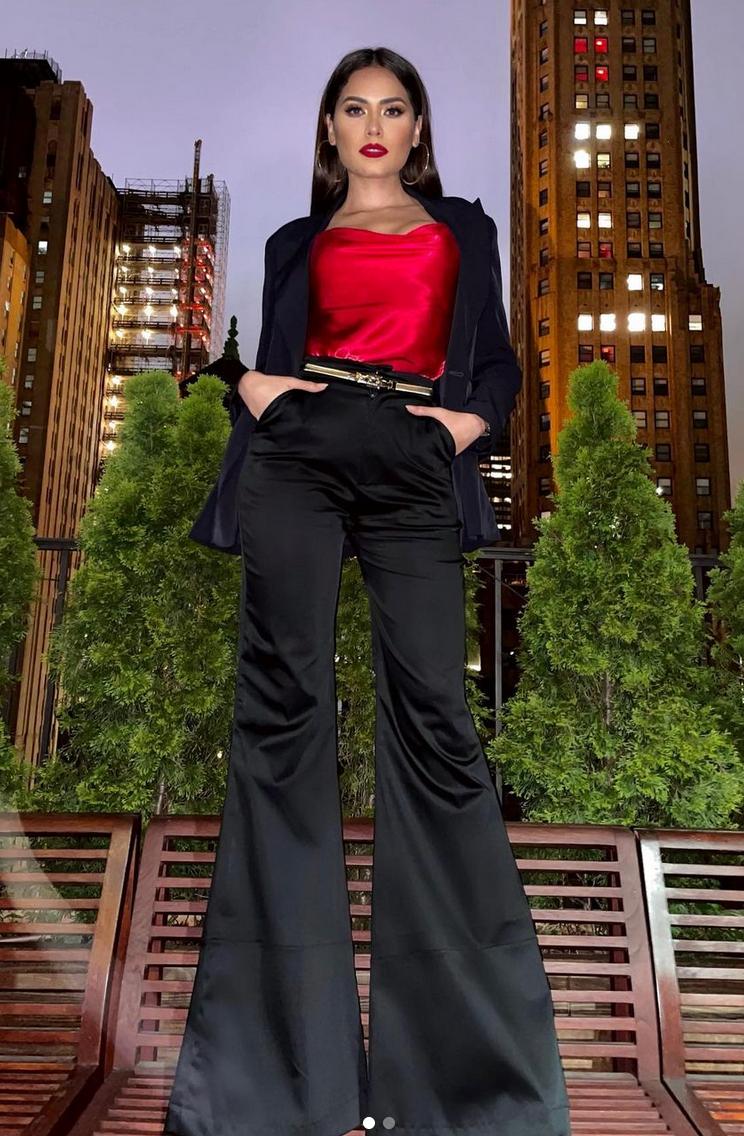 Andrea Meza, look del dia, nueva york