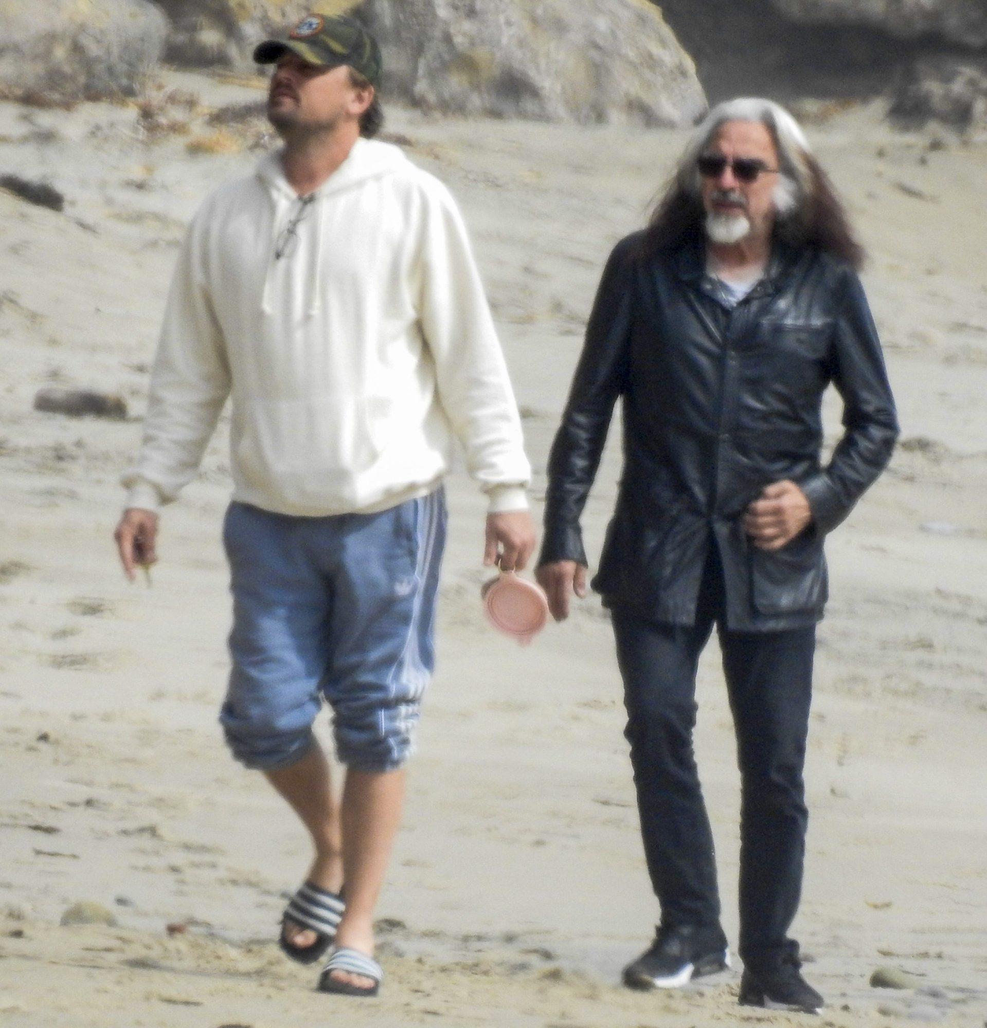 Leonardo DiCaprio Hits the Beach on Memorial Day Camila and his Family