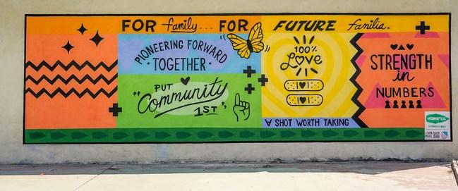 murales Nina Paloma COVID- LA