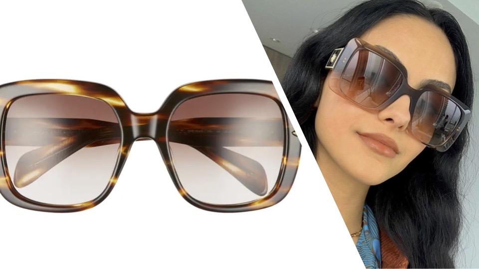 gafas de sol, lentes de sol, Rag and Bone, nordstrom rack, Camila Mendes