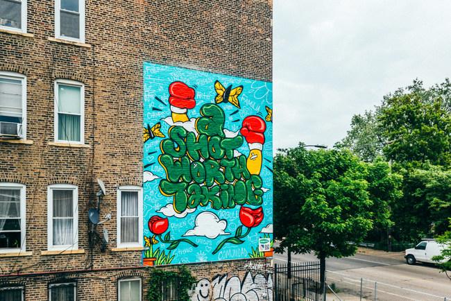 Mural Joel Colon Vacúnate Hoy Project