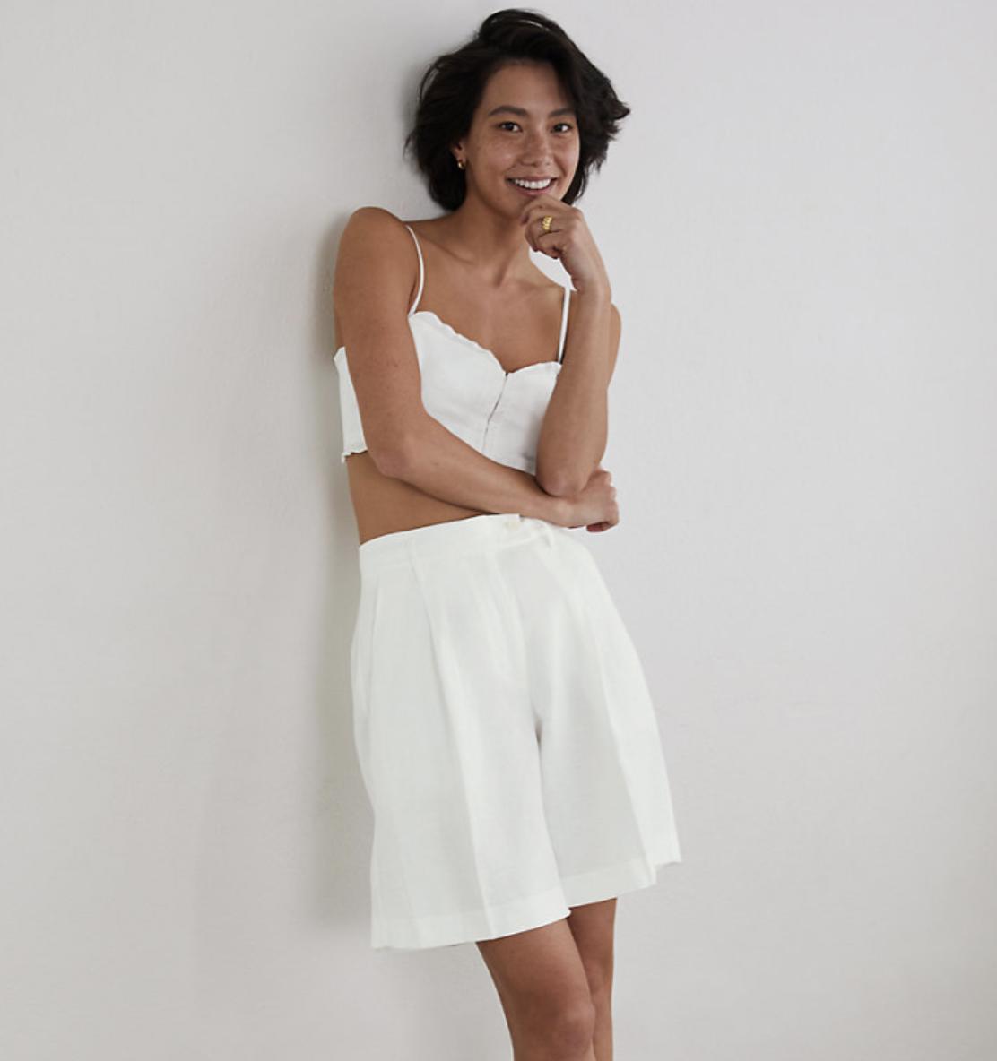tendencias de verano shorts aritzia wilfred