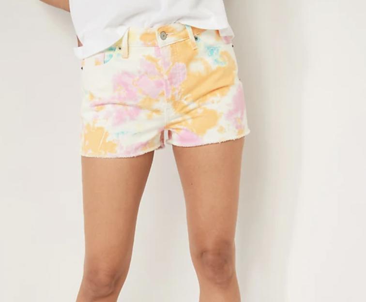 tendencias de verano shorts old navy