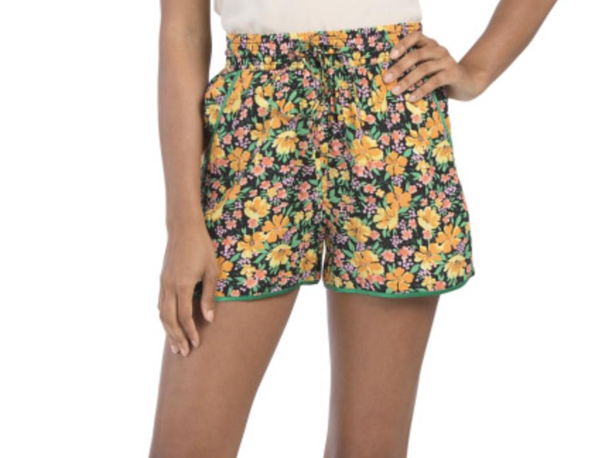 tendencias de verano shorts maje tj maxx